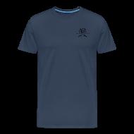 Magliette ~ Maglietta Premium da uomo ~ Maglietta Premium con logo AUDA e ak incrociati (per capi chiari)
