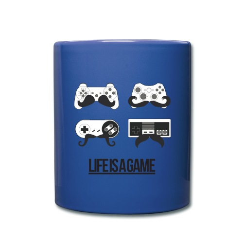 Life is a Game Cup - Tasse einfarbig