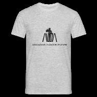 Magliette ~ Maglietta da uomo ~ maglietta con logo AUDA e soldato (per capi chiari)