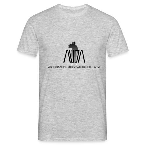 maglietta con logo AUDA e soldato (per capi chiari) - Maglietta da uomo