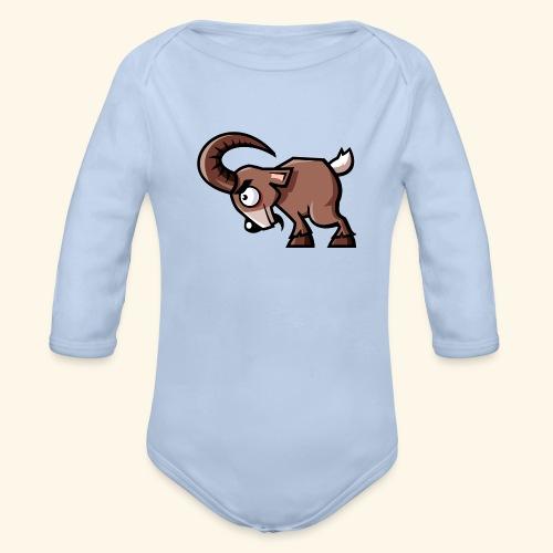 Goats-Are-Great - Baby Bio-Langarm-Body
