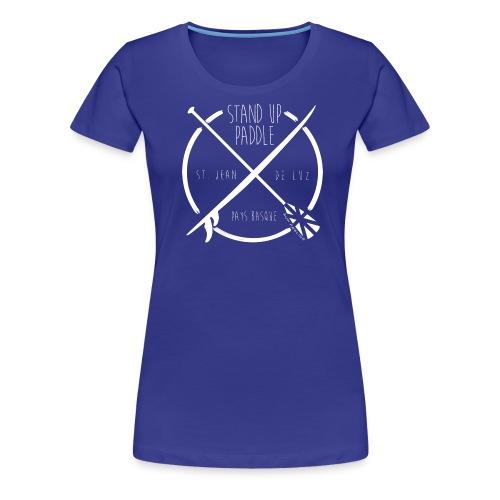 SUP St Jean de Luz - T-shirt Premium Femme