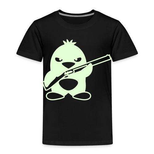 Nyhet! Pang! (Gløder i mørket!) - Premium T-skjorte for barn