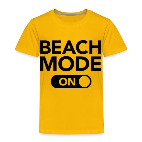 Nyhet! Strand Modus! - Premium T-skjorte for barn