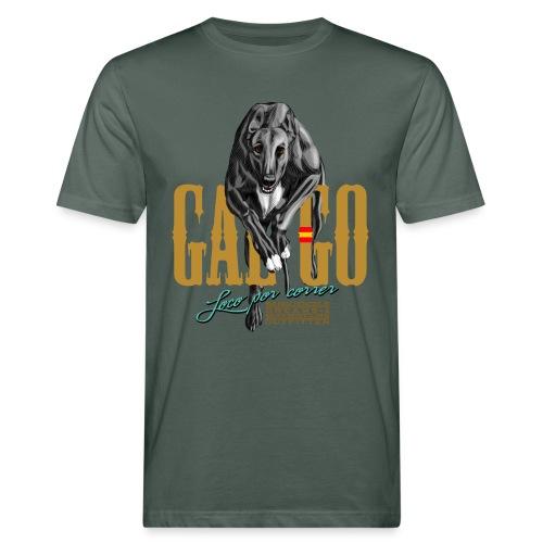 galgo - loco por correr - T-shirt ecologica da uomo
