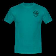 Magliette ~ Maglietta da uomo ~ maglia con logo AUDA e colt 1911 (per capi chiari)