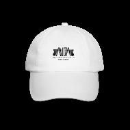 Cappelli & Berretti ~ Cappello con visiera ~ cappellino bianco con logo e glock