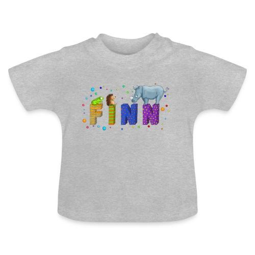 Babyshirt mit Namen - Baby T-Shirt