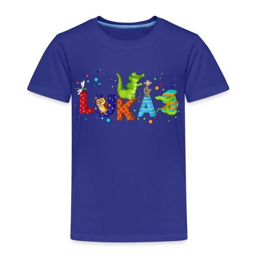 Shirt mit Namen - Kinder Premium T-Shirt
