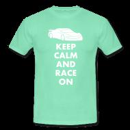 T-Shirts ~ Männer T-Shirt ~ Keep Calm and Race on