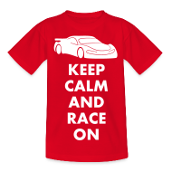 T-Shirts ~ Kinder T-Shirt ~ Keep Calm and Race on