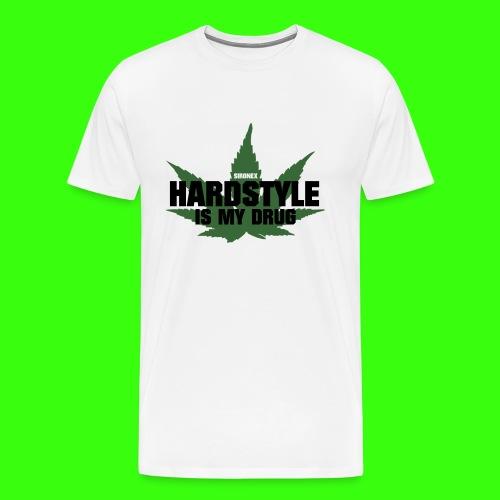 Hardstyle Drug - Männer Premium T-Shirt