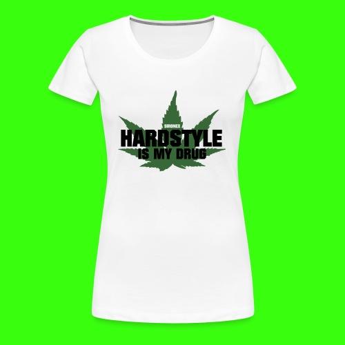 Hardstyle drug - Frauen Premium T-Shirt