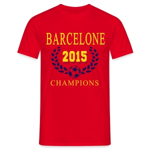Barcelone Champions 2015 - T-shirt Homme