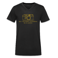 T-Shirts ~ Men's V-Neck T-Shirt ~ My