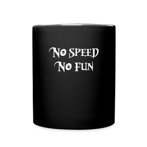 no speed no fun race skulsl - Tasse einfarbig
