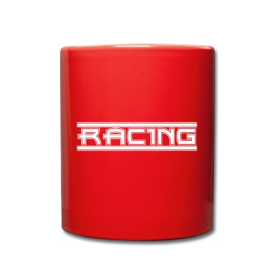 Retro Racing - Tasse einfarbig