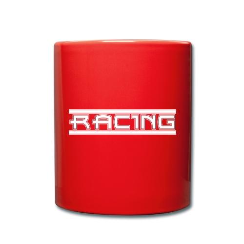 Retro Racing - Tasse einfarbig