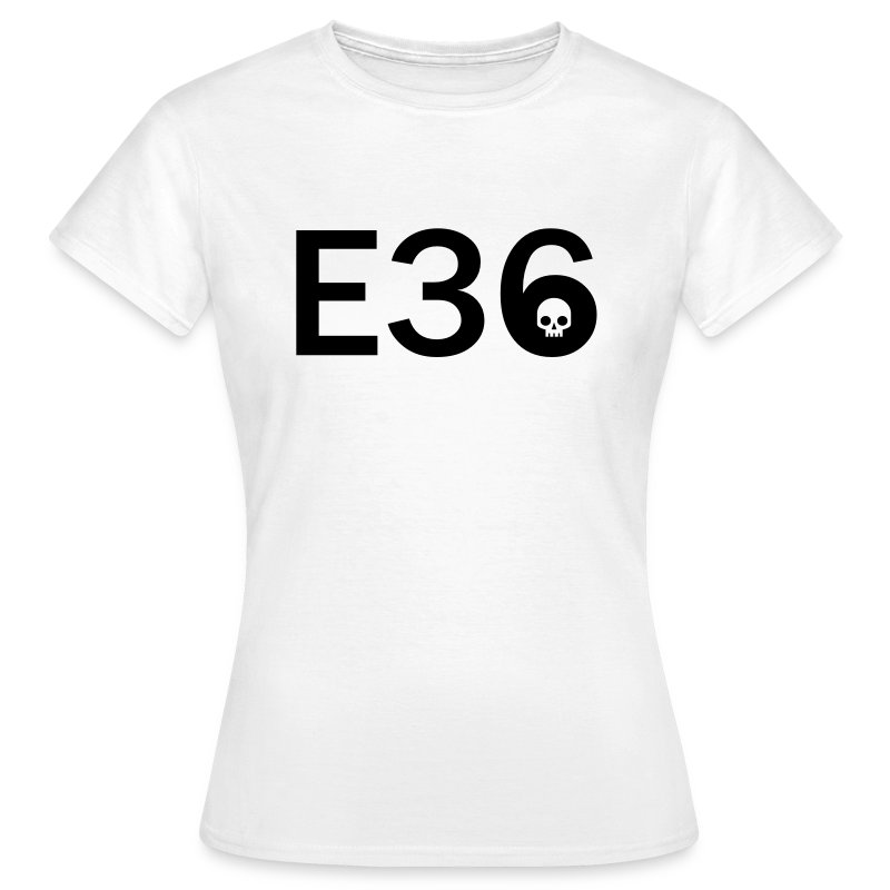 E36 Skull Tribal Art - Frauen T-Shirt