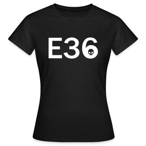 E36 Skull Tribal Art - Frauen T-Shirt