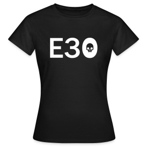 E30 Oldtimer Skull Tribal Art  - Frauen T-Shirt