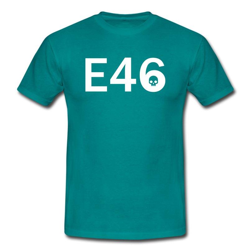 E46 Skull Tribal Art - Männer T-Shirt