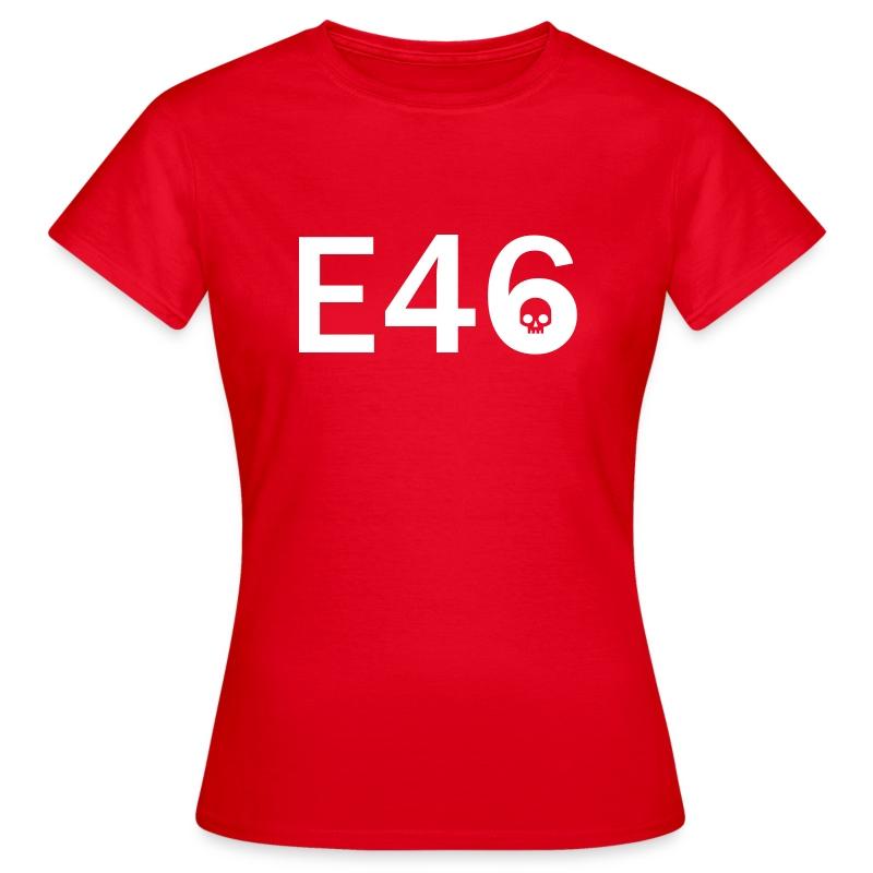 E46 Skull Tribal Art - Frauen T-Shirt