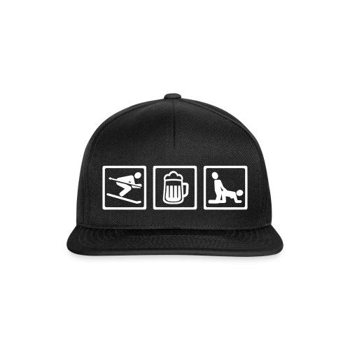 Funny ski Cap - Snapback Cap