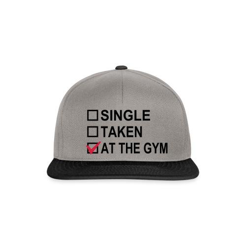 At the gym Cap - Snapback Cap
