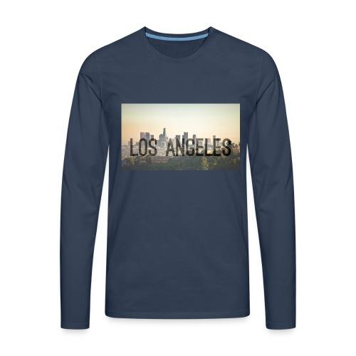 Los Angeles - Männer Premium Langarmshirt