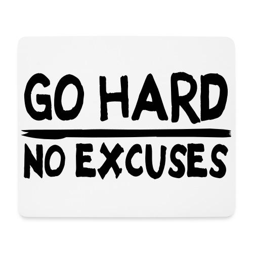 Go hard Muismat - Mouse Pad (horizontal)