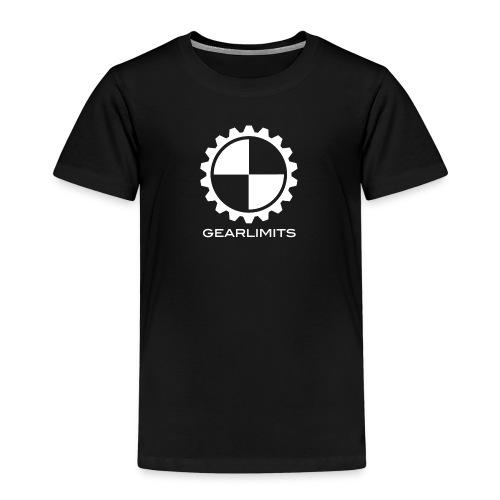 GearLimits Member T Kids (white print) - Kinderen Premium T-shirt