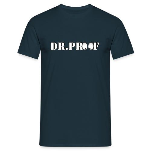 DR. Pr0000f Shirt ohne Ironiehelm Logo - Männer T-Shirt