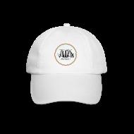 Cappelli & Berretti ~ Cappello con visiera ~ cappellino bianco con logo in 3d e bandiera