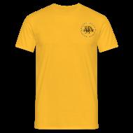 Magliette ~ Maglietta da uomo ~ maglietta con logo in 3d e bandiera (logo per capi chiari)