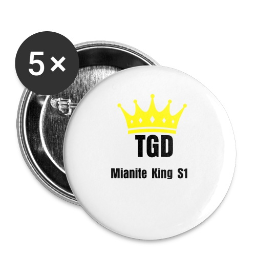 TDG Snapback Blue and Black - Buttons large 56 mm