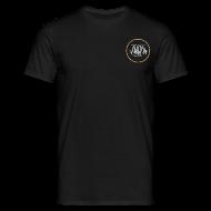 Magliette ~ Maglietta da uomo ~ logo AUDA 3d e bandiera (per capi scuri)
