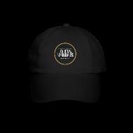 Cappelli & Berretti ~ Cappello con visiera ~ cappellino nero con logo AUDA e bandiera