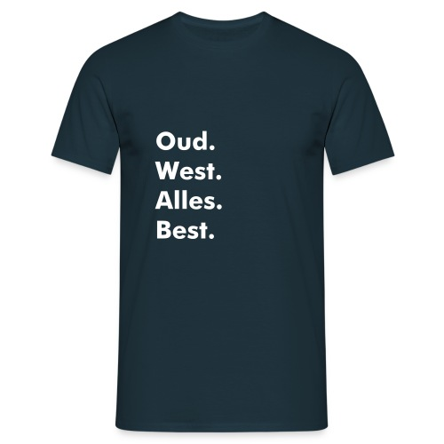 Oud West Dark - Mannen T-shirt