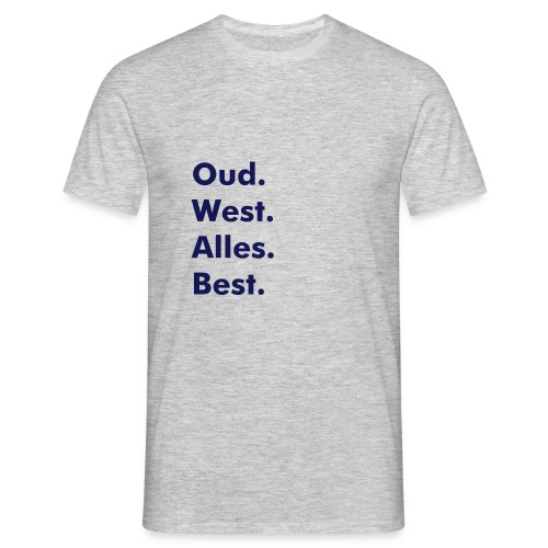 Oud West Light - Mannen T-shirt