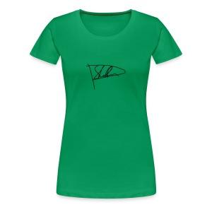 PStaffan Signatur - Premium-T-shirt dam