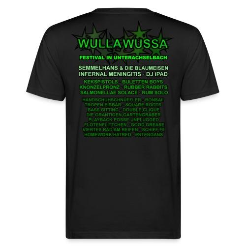 WULLA WUSSA MEN + LINEUP - Männer Bio-T-Shirt