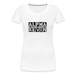 Alpha Kevin - Female Premium Shirt Alternativ - Frauen Premium T-Shirt