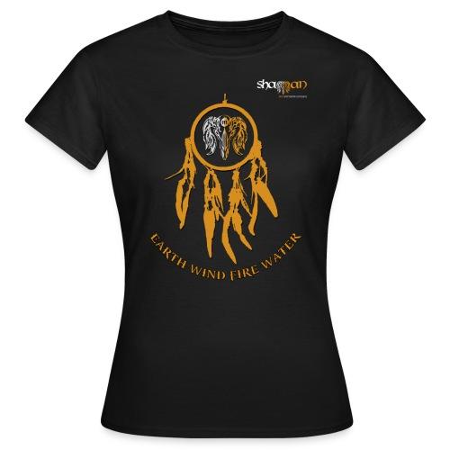 T-shirt Femme Dreamcatcher Shaman - T-shirt Femme