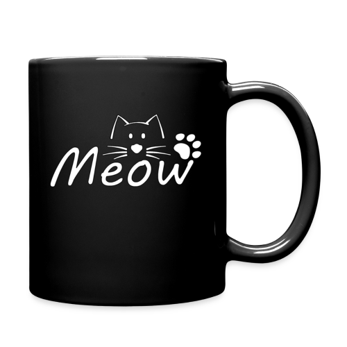 Meow cup mug L2 - Full Colour Mug