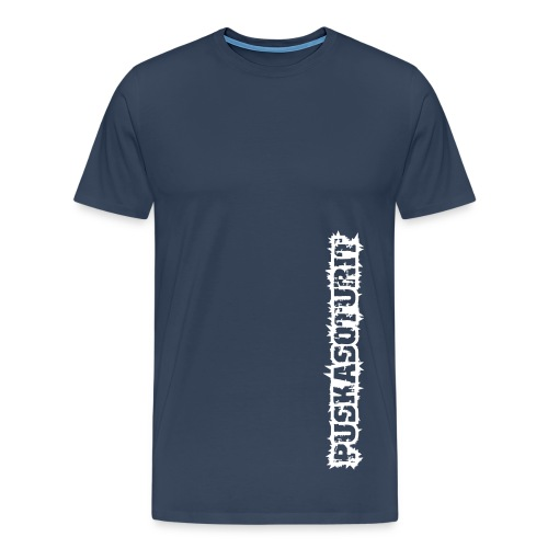 Miesten T-paita (navy) - Miesten premium t-paita