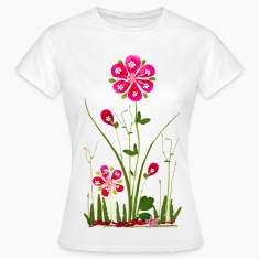 Fantasy Flower Power, Summer, Beautiful, Garden T-Shirts
