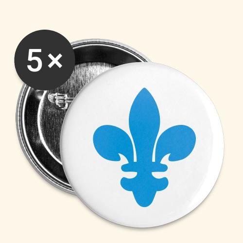 Lilie - Buttons klein 25 mm