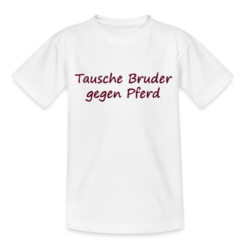 Bruder Spruch - Kinder T-Shirt