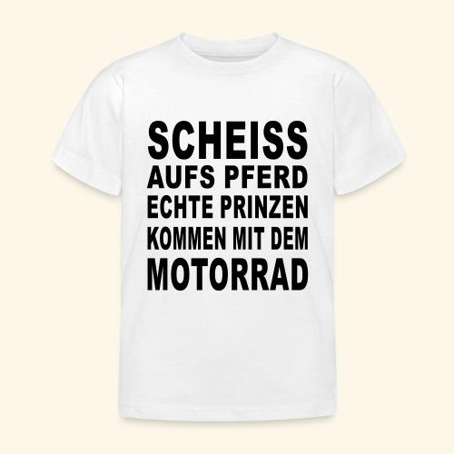 Scheiß aufs Pferd - Kinder T-Shirt